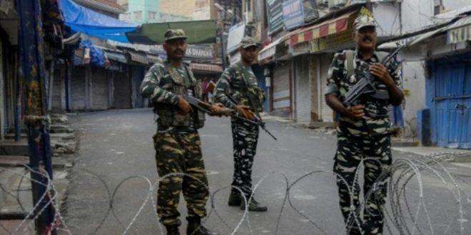 السلطات الهندية تعلن حالة التأهب القصوى في كشمير تخوفا من خروج تظاهرات
