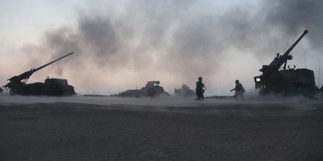 محطة تركية تكشف عن وقوع انفجارات في مستودع ذخيرة للجيش التركي على الحدود السورية